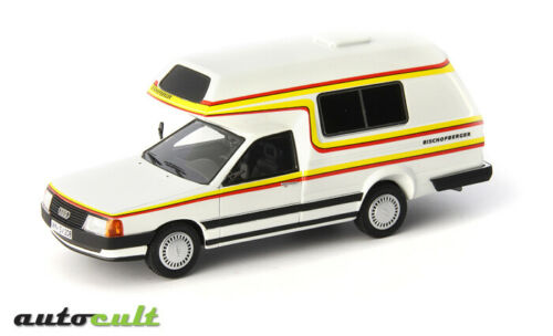 Audi 100 Type 44 Bischofberger Family Camper Germany 1985 Autocult 1:43 ATC09003