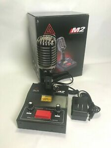 8-PIN-for-ICOM-BLACK-CHROME-DELTA-M2-AMPLIFIED-POWER-BASE-MICROPHONE-HAM-MIC