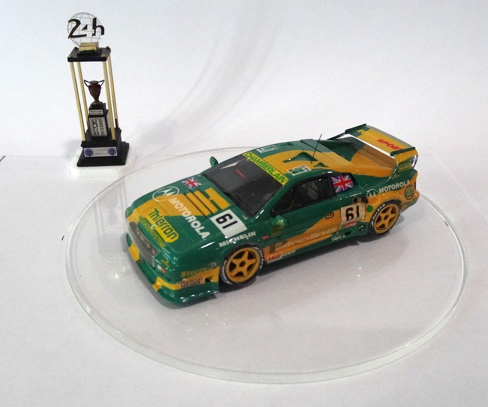 LOTUS ESPRIT S300  61 Le Mans 24 H 1994 Built Monté Kit  no spark MINICHAMPS