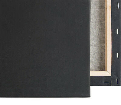 "10 Pack Economy Stretched Canvas Panels 11X14 Bulk Discount 5//8/"" Econo Black"