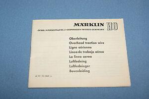 Marklin-Catenary-Instruction-booklet-60-ies