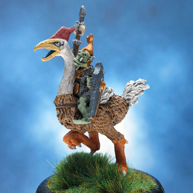 Pintado RAFM Miniatures Duende montar ave gigante