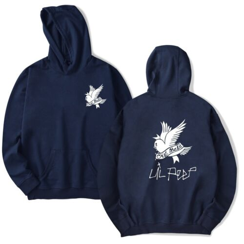 Lil Peep Cry Baby Hell Boy Music Hoodie Kapuzen Pullover Sweatershirt Sweats Neu