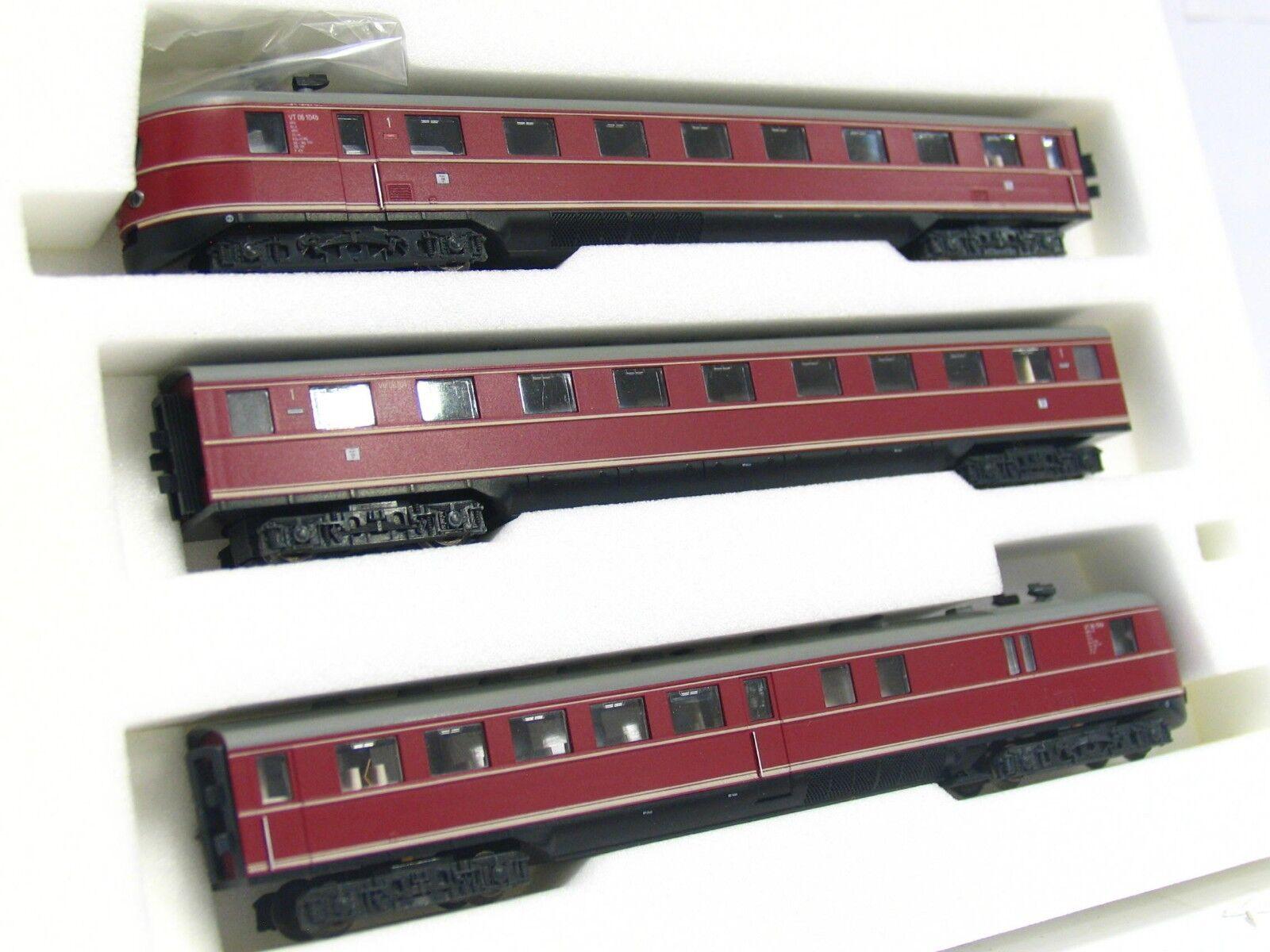 Hobbytrain N 16063 3teiliger Dieseltriebzug SVT 06.104 DB OVP (V9558)