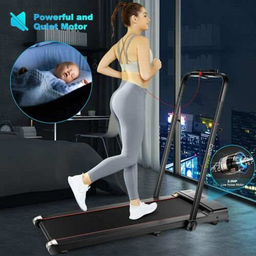 2.25HP Electric Treadmill Folding Running Machine with Bluetooth WIFI Details about  /Hot