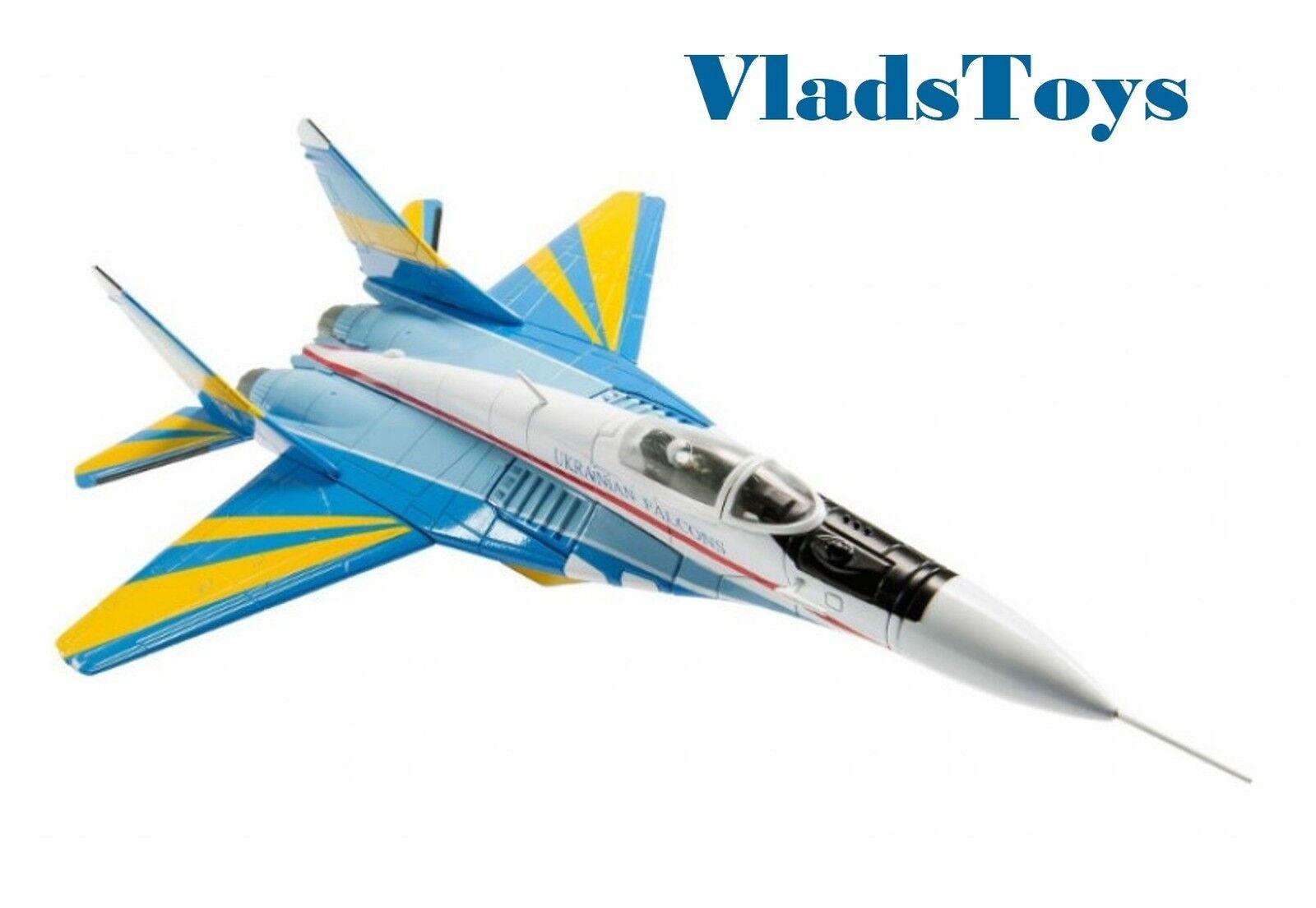 Corgi 1 72 mikoyan mig-29 fulcrum-c ukrainischen falken raf fairford us37505