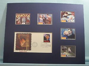 034-Dracula-034-by-Bram-Stoker-starring-Bela-Lugosi-amp-First-Day-Cover-of-Dracula-stamp