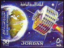 Jordanien Jordan 1965 ** Bl.27 Weltraum Space Satelliten Satellite