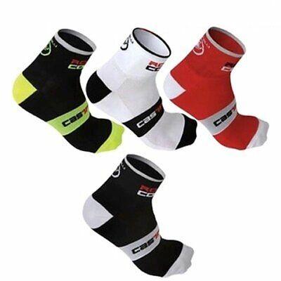 Men Bicycle Cycling Riding Socks Running sports socks Castelli Breathable Sock