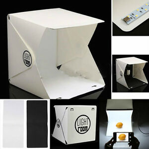 "Light Room Mini Photo Studio 9"" Photography Lighting Tent Backdrop Cube Box dg"