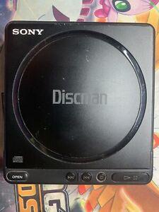 VINTAGE SONY DISCMAN D-4 * PORTABLE CD PLAYER * JAPAN 1989 * UNTESTED