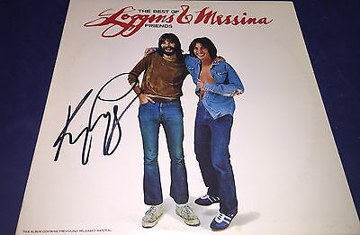 Kenny Loggins *loggins & Messina The Best Of Friends Hand Signed Album Proof Coa Records