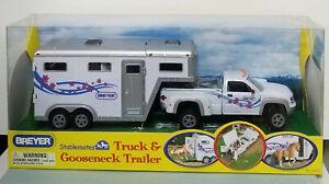 Breyer-720531-Stablemates-Gooseneck-Truck-and-Gooseneck-Trailer-NIB