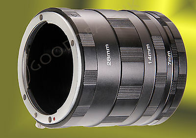 Macro Extension Tube Ring Set for Fuji X Fujifilm XF XC mount X-Pro1 A1 E1 E2 M1