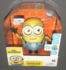 """MINIONS Movie Collector's Edition Minion Bob 10"""" Interactive Talking Figure Doll"""