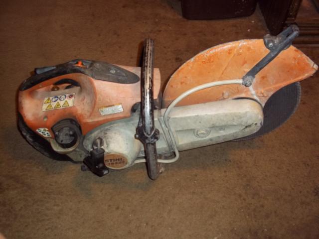 STIHL TS420 14 inch Gas Chop Cutoff Quickie Saw