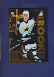 Jere-Lehtinen-RC-1995-96-Pinnacle-Zenith-Hockey-Rookie-145-Dallas-Stars