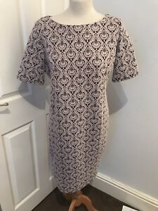 Womens-Billie-and-Blossom-Dorothy-Perkins-Dress-size-16-Pink-black