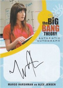 Big-Bang-Theory-Seasons-6-amp-7-MH1-Margo-Harshman-Alex-Jensen-Autograph-card