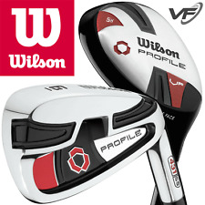 """NEW 2017"" WILSON PROFILE VF MENS  #5 HYBRID +6-SW IRONS / GOLF IRONS COMBO SET"
