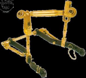 Dreipunkt-Vorrichtung Kat 1 für Kubota 600mm Unterlenker Kleintraktoren kpl.