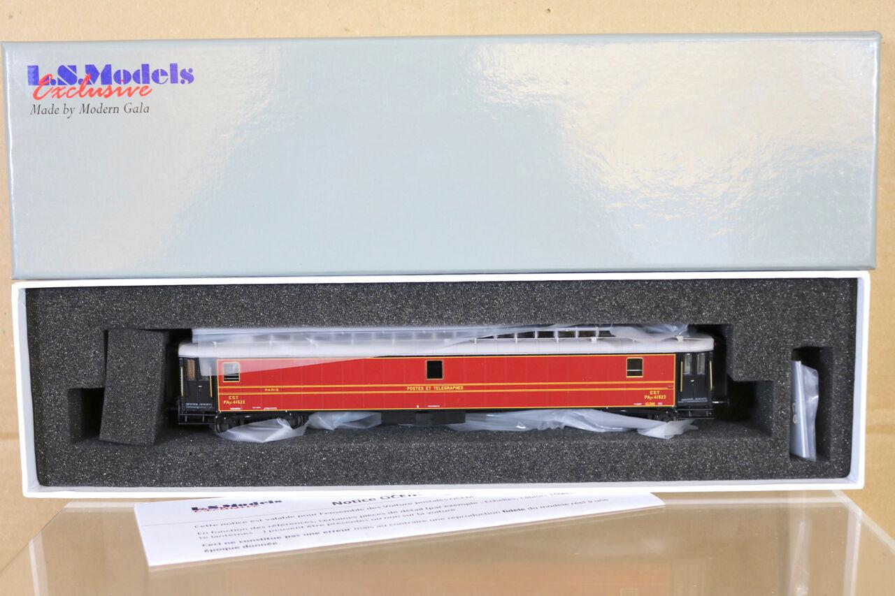 Ls Modèles 40401 SNCF Est Postes rosso Ocem Ptt Payi Post Mail Wagon 41523 Ep II