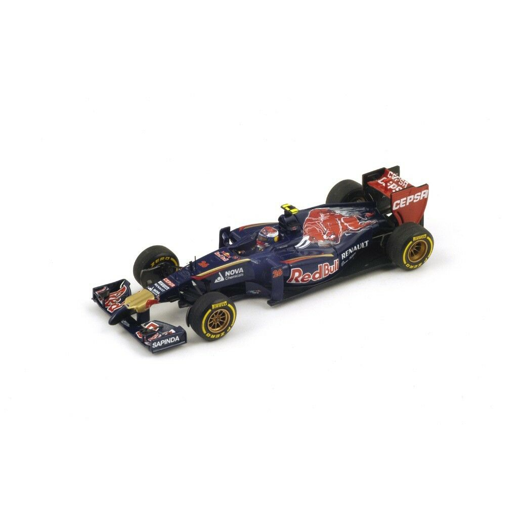 1 43 Scuderia Tgold red STR9 Renault  Australian GP 2014  Daniil Kvyat