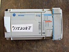 Allen Bradley 1764 24bwa Micro Logix 1500 Rack 115228j Used