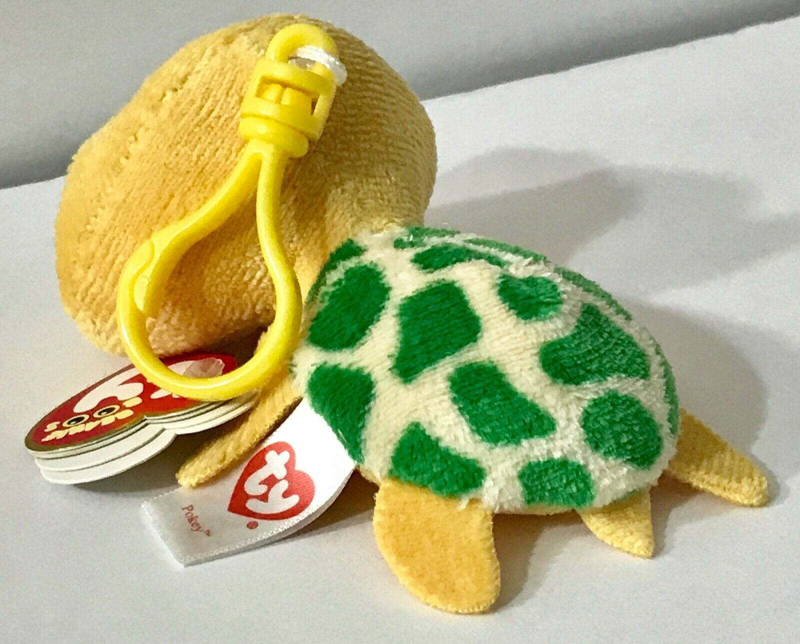 RARE Yellow Sea Turtle MWMT POKEY Retired *DOB:5//25 Ty Beanie Boo CLIP