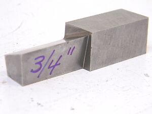 "NOS Rex aaa High Speed Steel Lathe Cutting Tool Bit 3//4/"" x 3//4/"" x 5/"""