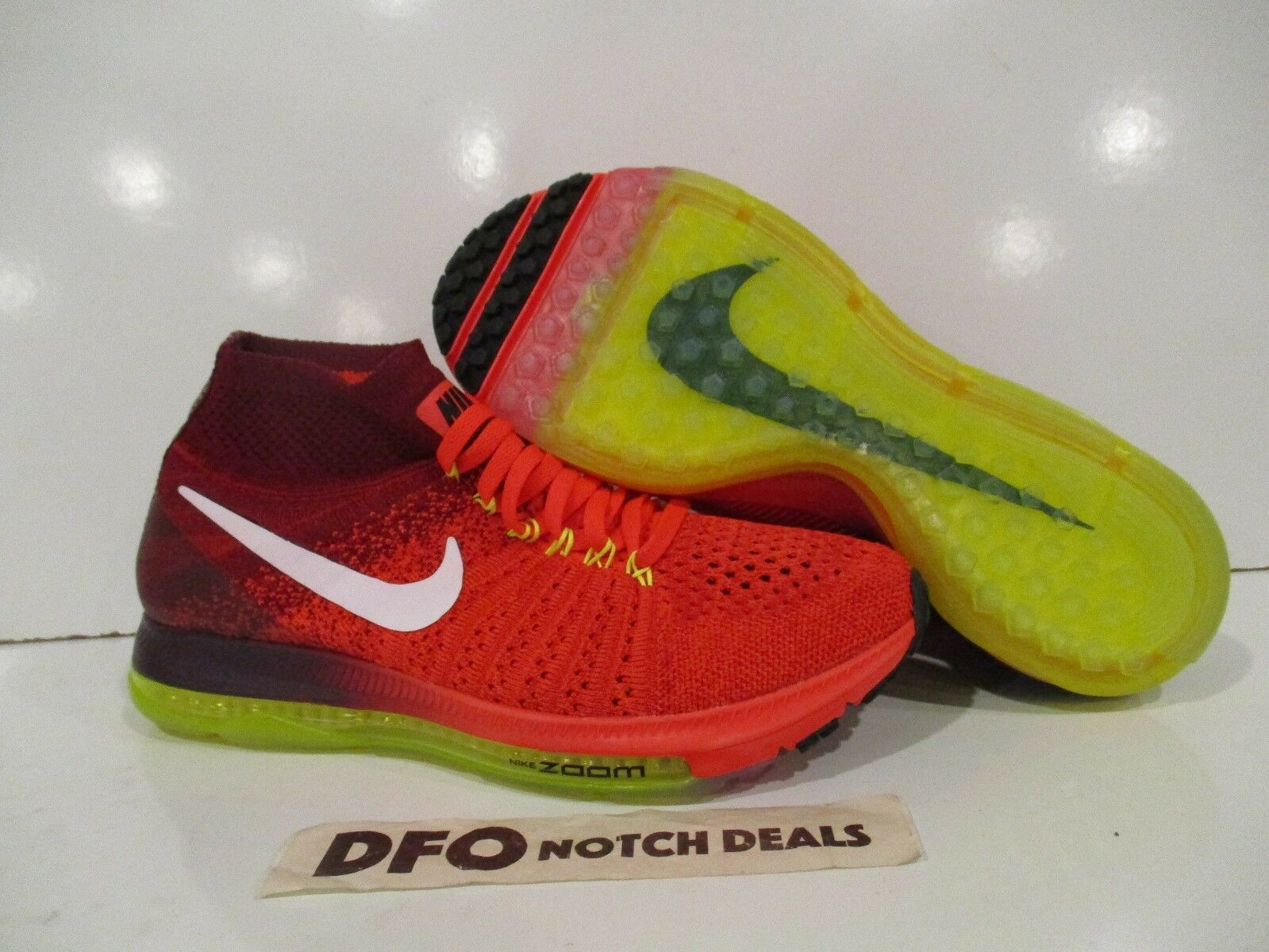Wouomo Nike Zoom All Out Flyed Sz  7,7.5,11 Bright Crimson Volta 85361 616 NUOVO  grandi risparmi