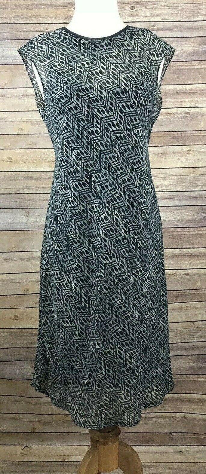 Carole Little Romantic Flowy Cap Sleeve A-Line Dress w Removable Lining Sz 6