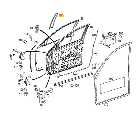 Mercede C230 Kompressor Fuse Diagram