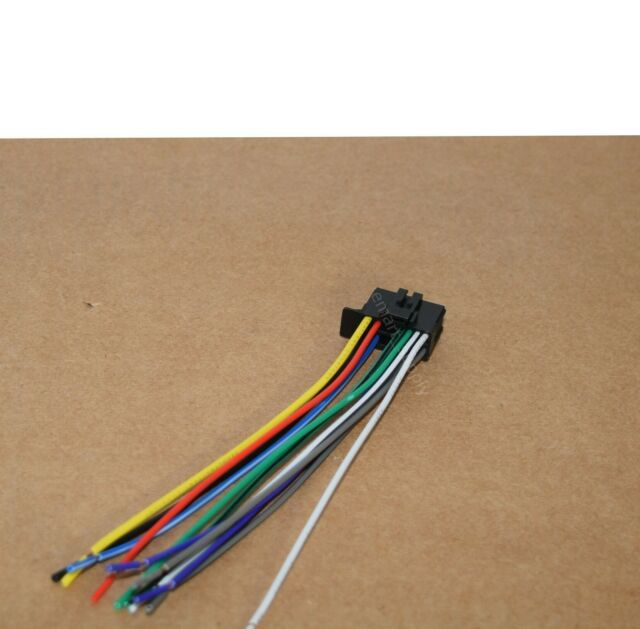 Pioneer Fh S52bt Wiring Harness