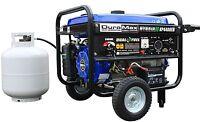 Duromax - Xp4400eh -hybrid Portable Dual Fuel Propane / Gas Camping Rv Generator