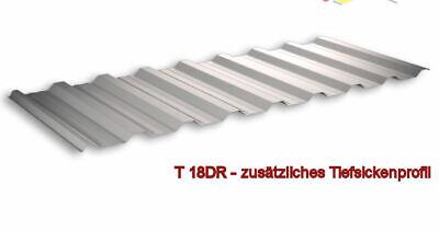 2 Farben Sinnvoll Profilblech Trapezblech 0.4 So-posten Vollverz./polybesch Trapezbleche & Wellplatten