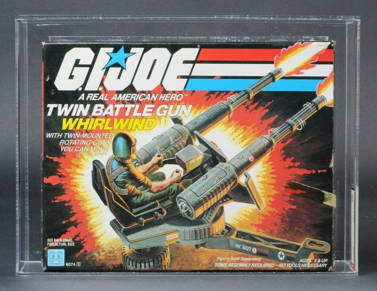 1983 Hasbro GI Joe Series 2 Whirlwind AFA 80 MISB Factory Sealed