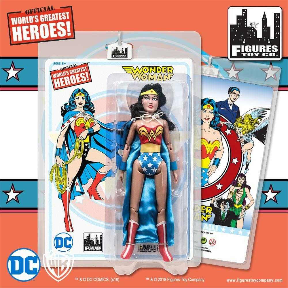DC Comics Wonder Woman Retro 8 Inch Action Figure Series 2: Wonder Woman