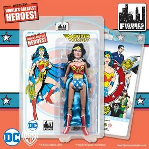Dc Comics Wonder Woman Rétro Figurine Action 8 Pouces, Série 2: