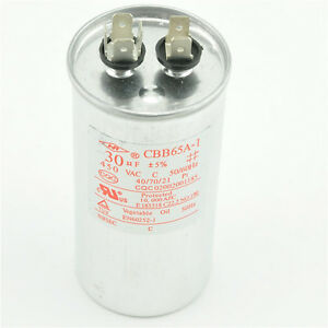 Ac 450v 30uf cbb65a 1 air conditioner motor start for How to test a motor start capacitor