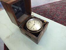 Antique A. Johannsen Marine Ships Chronometer