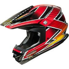 Fulmer AF RX4 Red Strike Off Road MX Dirt Helmet size Adult XLarge