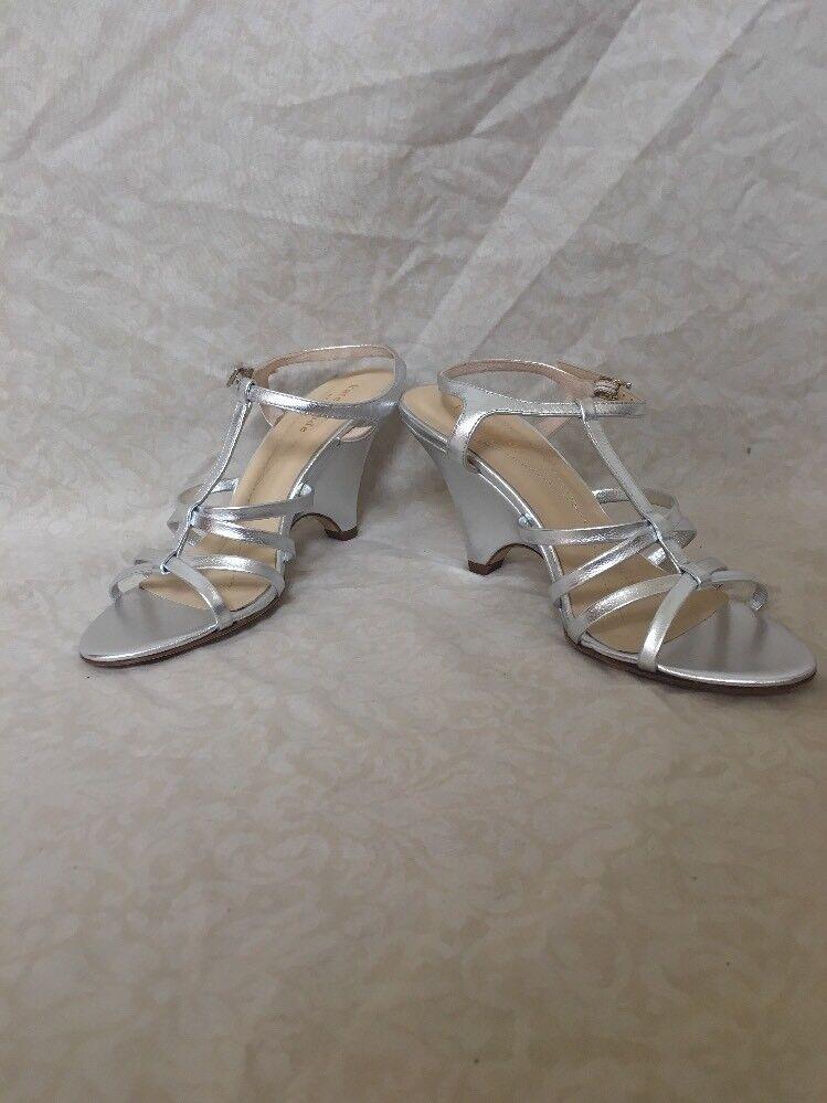 Kate Spade Bet Silber Metallic Metallic Metallic Nappa, damen's schuhe, Größe 6.5M e4d8c7