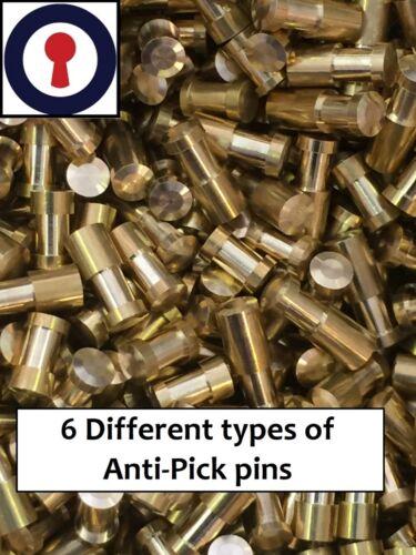 Locksport Anti-pick PINS Mixte Sac de 50 avec 2.8 /& 3 mm 1st p/&p