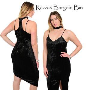 9d6dff8ad5d New Ladies Simply Stunning Black Velour Dress Plus Size 14 1XL (1331 ...