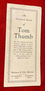 1930-s-Baltimore-Ohio-Railroad-Tom-Thumb-Train-Brochure