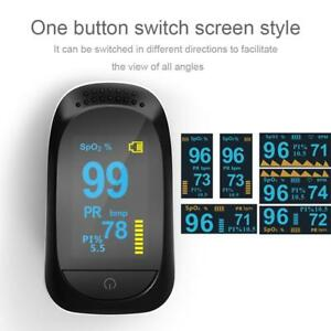 Finger-Tips-Pulse-Oxygen-Oximeter-Heart-Rate-Monitor-Blood-Pressure-Meter-Health