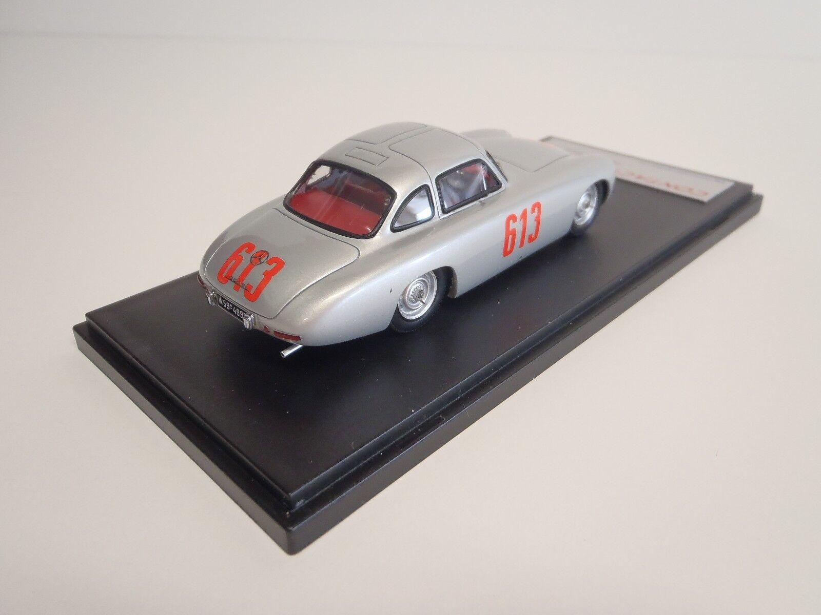 300SL Mercedes 1952 -W194 4th place in Mille Miglia