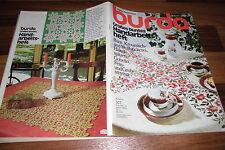 BURDA: GROßES BUNTES HANDARBEITSHEFT 19/1975 -- Bunt- Kreuzstich- Weißstickerei