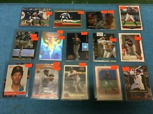 ROBERTO-ALOMAR-BLUE-JAYS-INDIANS-14-CARD-LOT-ROOKIE-HOLOGRAM-INSERTS-UPPER-DECK
